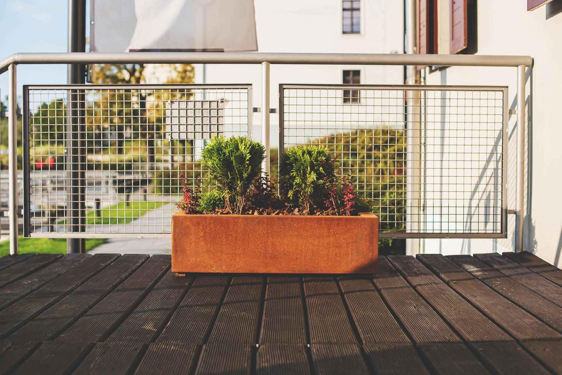 Corten Design Pot - cortena.nl